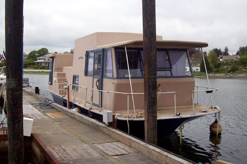 Houseboat that Annie Lived On
