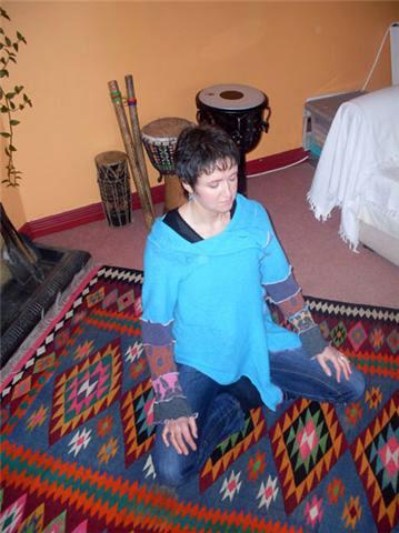 Derval Meditating