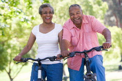 Exercising Couple