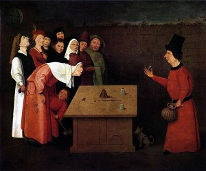 The Conjurer, by Hieronymus Bosch