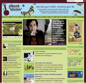 Planet Thrive Site Map