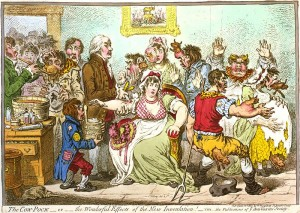 The Cow-Pock—or—the Wonderful Effects of the New Inoculation! by James Gillray