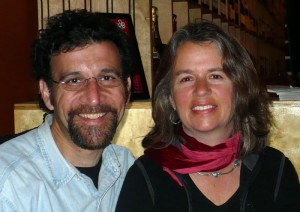 Mary Rives and Keith Carlson