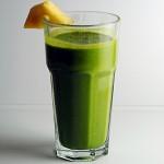 Ginger cilantro green shake