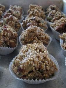 Trail muffins