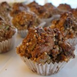 Hearty trail muffins