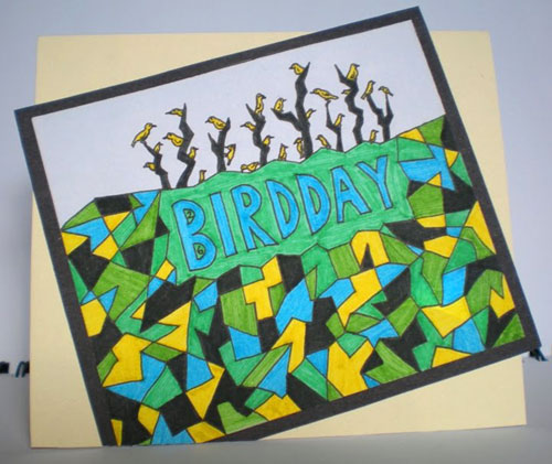 Happy 26 Bird Day! card