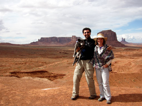 Mary and Keith in Monument Valley