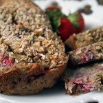 Loaded strawberry lemon poppyseed bread