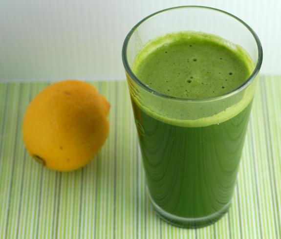Elana's green lemonade