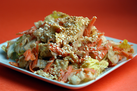 Elana's Asian coleslaw