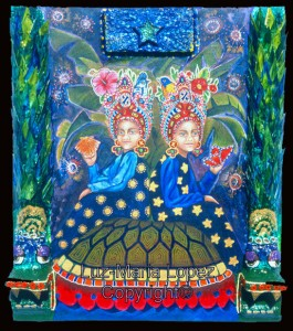 Duality in Mayan Lore ©Luz-Maria Lopez