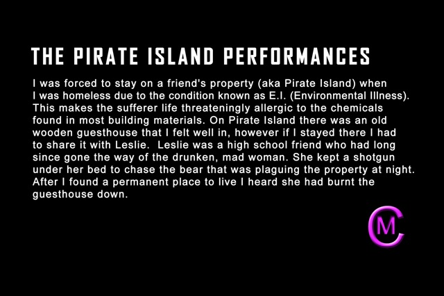 Pirate Island Performances intro