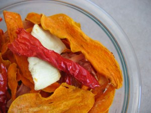 Mixed vegetable chips