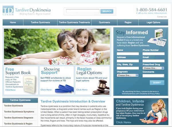 Tardive Dyskinesia (TD) website
