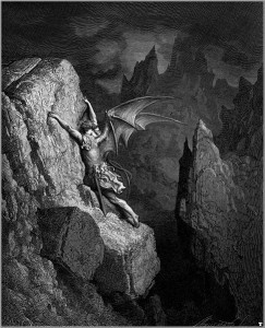 Illustration for Paradise Lost by John Milton