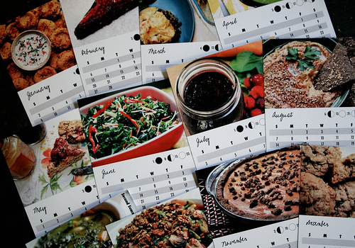 A Year to Eat Freely allergy friendly recipe calendar by Kim Christensen