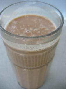 Raw cacao shake