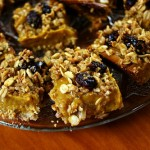 Sweet potato spice crumble bars