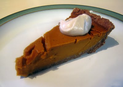 Kim's pumpkin pie