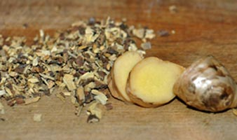Ginger licorice tea