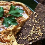 Wholegrain crackerbread with sesame