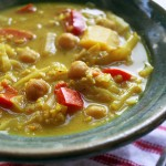 Chickpea millet stew