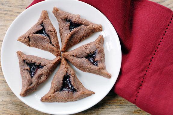 Chocolate Raspberry Hamantaschen