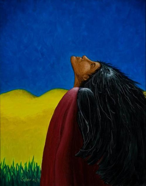 She Dreams Raven by Schar Freeman