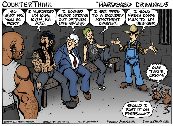 Hardened criminals