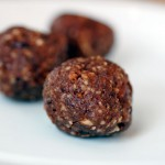 Gluten free chocolate power bar balls
