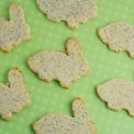 Gluten free Easter Bunny cookies