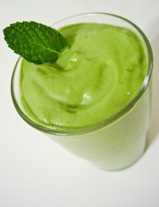 Affairs of Living's Shamrock Shake