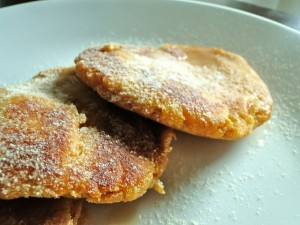 Sketch Free Vegan Eating's Sweet Potato Vanilla Patty Cakes