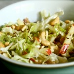 Cabbage apple slaw