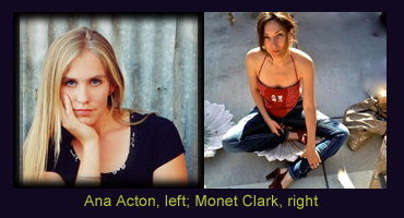 Ana Acton and Monet Clark
