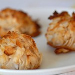 Passover and Easter easy coconut macaroon dessert