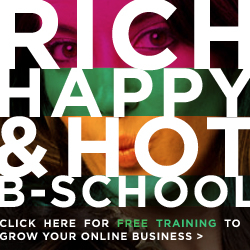 Marie Forleo's Rich Happy and Hot B-School