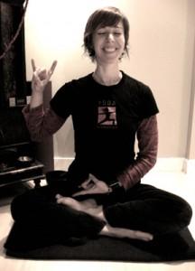 yogi Suzanne Stephens