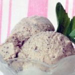 Gluten free mint chip ice cream