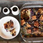 Gluten free blueberry french toast casserole