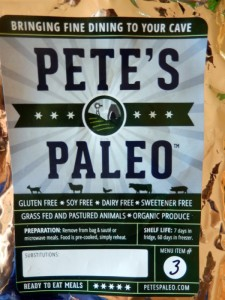 Pete's Paleo packaging