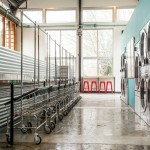 Eco-friendly laundromat in Portland, Oregon