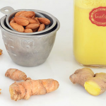 Dairy free golden turmeric root milk