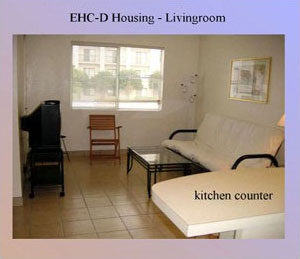 EHC-D living room